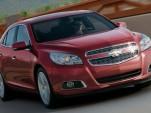 2013 Chevrolet Malibu leaked