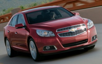 2013 Chevrolet Malibu Sneak Peek: 2011 New York Auto Show