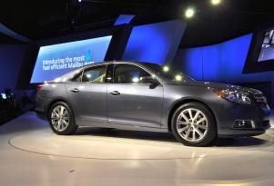 2013 Chevrolet Malibu Eco Gets 38 MPG: Live Photos, Preview