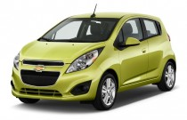 2013 Chevrolet Spark 5dr HB Auto LS Angular Front Exterior View