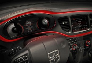 2013 Dodge Dart: More Teaser Photos, Now The Instrument Panel