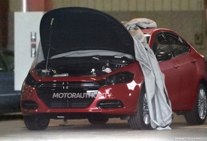 2013 Dodge Small Car (Hornet) spy shots