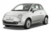 2013 FIAT 500 2-door HB Lounge Angular Front Exterior View