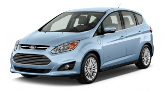 2013 Ford C-Max Energi 5dr HB SEL Angular Front Exterior View