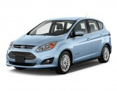 2013 Ford C-Max Hybrid 5dr HB SEL Angular Front Exterior View