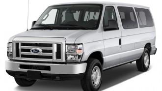 2013 Ford Econoline Wagon E-150 XLT Angular Front Exterior View