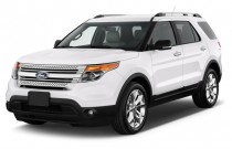 2013 Ford Explorer FWD 4-door XLT Angular Front Exterior View