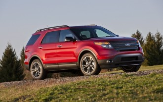 1.2M Ford Explorer SUVs recalled to address suspension component