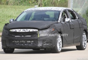 2013 Ford Fusion (Mondeo) spy shots