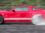 2013 Ford Mustang Shelby GT500 burnout