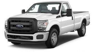 "2013 Ford Super Duty F-250 SRW 2WD Reg Cab 137"" XL Angular Front Exterior View"