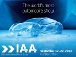 2013 Frankfurt Auto Show logo