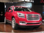 2013 GMC Acadia introduction, Chicago Auto Show, Feb 2012