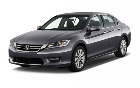 2013 Honda Accord Sedan 4-door V6 Auto EX-L Angular Front Exterior View