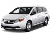 2013 Honda Odyssey 5dr EX Angular Front Exterior View