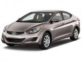 2013 Hyundai Elantra 4-door Sedan Auto GLS (Alabama Plant) Angular Front Exterior View
