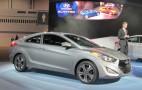 2013 Hyundai Elantra Coupe Live Photos: 2012 Chicago Auto Show