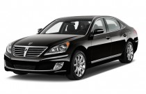 2013 Hyundai Equus 4-door Sedan Signature Angular Front Exterior View