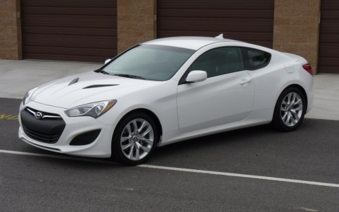 2013 Hyundai Genesis Coupe vs Honda Civic, INFINITI G37 Coupe ...
