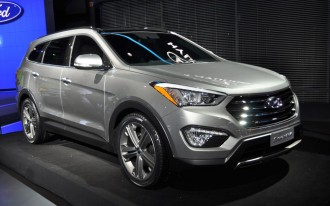 2013 Hyundai Santa Fe Live Photos: 2012 New York Auto Show