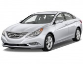 2013 Hyundai Sonata 4-door Sedan 2.4L Auto Limited Angular Front Exterior View