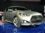 2013 Hyundai Veloster Turbo  -  2012 Detroit Auto Show