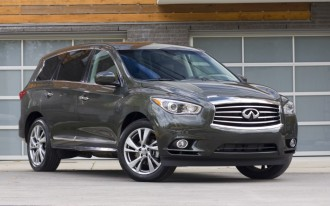 2013 Infiniti JX: All-New Seven-Seat, Three-Row Luxury Crossover