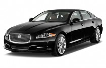2013 Jaguar XJ 4-door Sedan XJL Supercharged Angular Front Exterior View