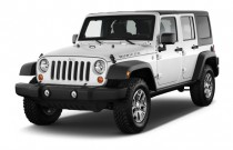 2013 Jeep Wrangler Unlimited 4WD 4-door Rubicon Angular Front Exterior View