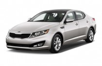 2013 Kia Optima 4-door Sedan EX Angular Front Exterior View