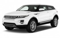 2013 Land Rover Range Rover Evoque 2-door Coupe Pure Plus Angular Front Exterior View
