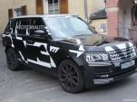 2013 Land Rover Range Rover spy shots