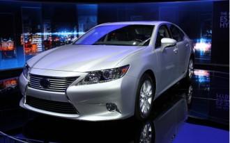 2013 Lexus ES 300h Live Photos: 2012 New York Auto Show