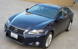 2013 Lexus GS350 Recalled for Braking System With Mind of its Own