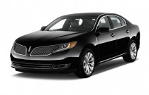 2013 Lincoln MKS 4-door Sedan 3.7L FWD Angular Front Exterior View