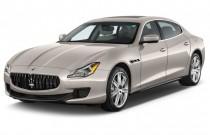 2013 Maserati Quattroporte 4-door Sedan Quattroporte S Angular Front Exterior View