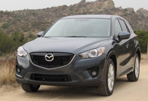 2013 Mazda CX-5 compact crossover on test drive, Southern California, Nov 2011