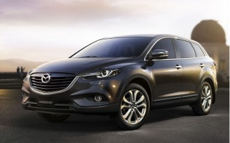2013 Mazda CX-9 Gets Design Update, Active-Safety Features