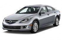 2013 Mazda MAZDA6 4-door Sedan Auto i Grand Touring Angular Front Exterior View