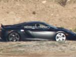 2013 McLaren MP4-12C Spider spy shots