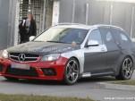 2013 Mercedes-Benz C 63 AMG Black Series wagon spy shots