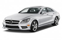 2013 Mercedes-Benz CLS Class 4-door Sedan CLS550 RWD Angular Front Exterior View