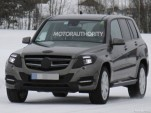 2013 Mercedes-Benz GLK Class facelift spy shots