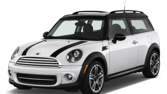 2013 MINI Cooper Clubman 2-door Coupe Angular Front Exterior View