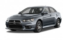 2013 Mitsubishi Lancer Evolution / Ralliart 4-door Sedan TC-SST MR Angular Front Exterior View