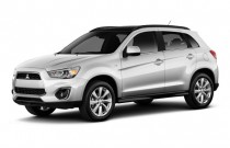 2013 Mitsubishi Outlander Sport AWD 4-door CVT SE Angular Front Exterior View