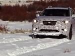 2013 Nissan Pathfinder during winter testing