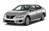 2013 Nissan Sentra 4-door Sedan I4 CVT SR Angular Front Exterior View