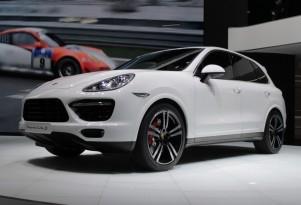 2014 Porsche Cayenne Turbo S live photos, 2013 Detroit Auto Show