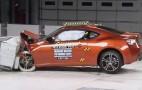 2013 Subaru BRZ And Scion FR-S IIHS Crash Test Videos